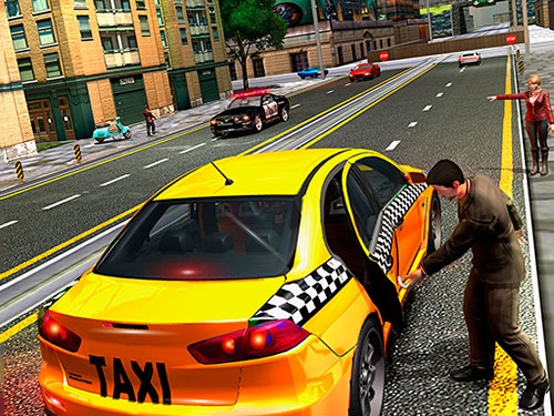 נהג מונית בלונדון