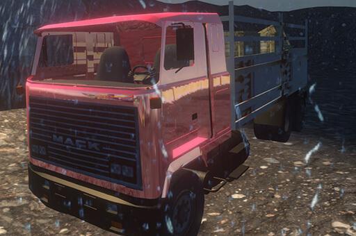 נהג משאית סימולטור