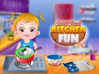 בייבי הייזל כיף במטבח